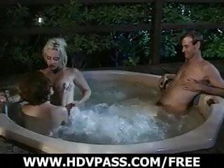 Hot sex in jacuzzi Lesbians sex in a jacuzzi.