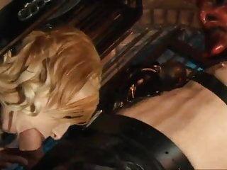 Dungeon sex mamasan - British blonde slut and friend get fucked in a dungeon