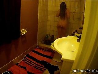Masturbate video spy Step sister spy masturbation shower
