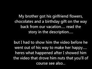 Gift teen - Gf cheats on bf who gets her gift for birthday