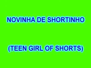 Teen girl in shorts Novinha de shortinho teen girl of short 157