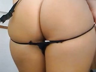 Big tits and asses masturbating Bid round ass plays with pussy tits and dildo in ass
