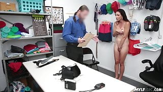 Shoplifter Babe Crying And Getting Fucked!