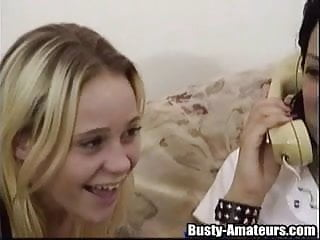 Lesbian with sex toy - Pleasing with sex toy