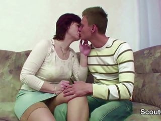 Son fuck stepmom - Stepmom caught step-son and seduce him to fuck her