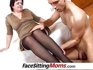 Fucking women over 50 Lady over 50 cunnilingus and sitting on face