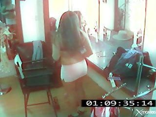 Beautiful office lesbians Two beauty girl of hidden cam in office
