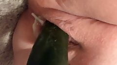 Cucumber makes wife creamy