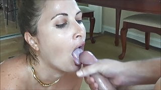 Sucking it After Cumshot Compilation #1
