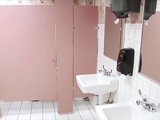Fuck with pantyhose Pantyhose toilet fuck with a stranger