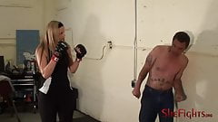 Taking A Beating For Cassidy - Merciless Blonde