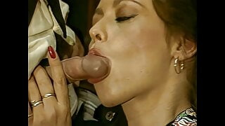 Horny secretary Laura Lenz, upscaled to 4K