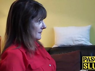 Submission sex clips Divorced mature lady pandora enjoys having submissive sex