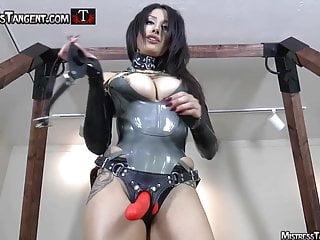 Castration femdom mistress - Strapon slut trainer with femdom mistress tangent