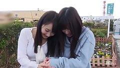 Chie Aoi and Kurumi Chino :: Beautiful Lesbian 1 - CARIBBEAN
