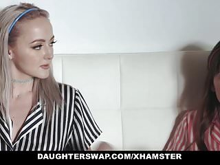 Dad boy sex videos - Daughterswap - teens tricked into fucking dads best friend