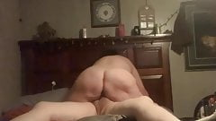 Dark Haired Milf Riding Big Cock