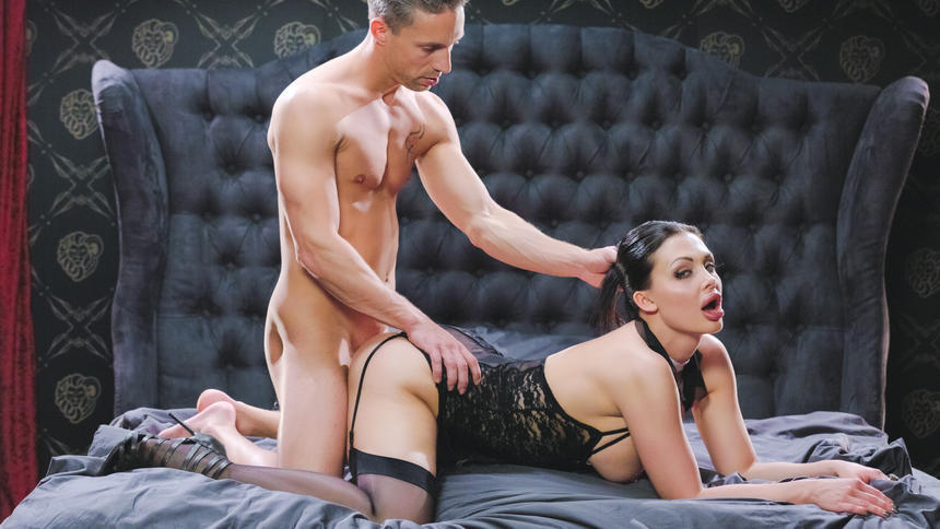 Busty Hungarian Babe Aletta Ocean Eats Jizz In Glamcore Fuck With Lutro Tube8 1