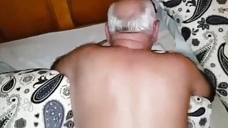 MY FATHER-IN-LAW TAKING IRON