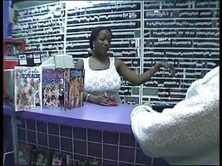 Horny ebony lesbian Horny ebony grabs guys big black dick and gives him a blowjob
