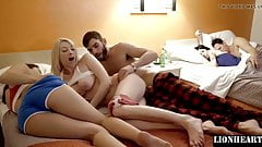 Brother fucked hot sister in family vacation resort