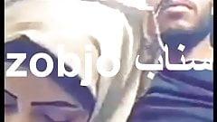 arab girl in hijab suck