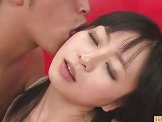 Asian porn boobs Hot creampie asian porn with nozomi in white lingerie