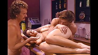 Christy Canyon Fucked in a Bar (4K Upscale)