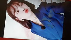 Oh My Girl Seunghee cum (tribute) #4