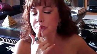 Beautiful busty mature latina gives an amazing blowjob