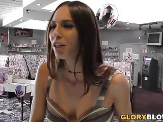 Xxx foxes Aidra fox receives creampie by a bbc at gloryhole