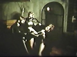 Vintage witch Torture of the witch