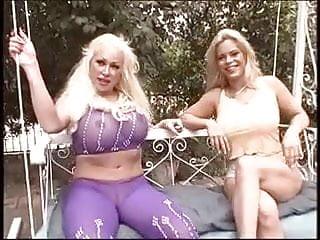 Wet slut Two mature sluts with huge tits finger their wet pussies