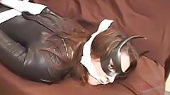 Super heroine subjugated and treated to bondage