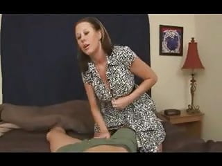 Son makes mom give blowjob - Mom give sons friend a handjob d10