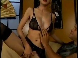 Chinese slut in stockings - Asian slut ange venus gets fucked 3