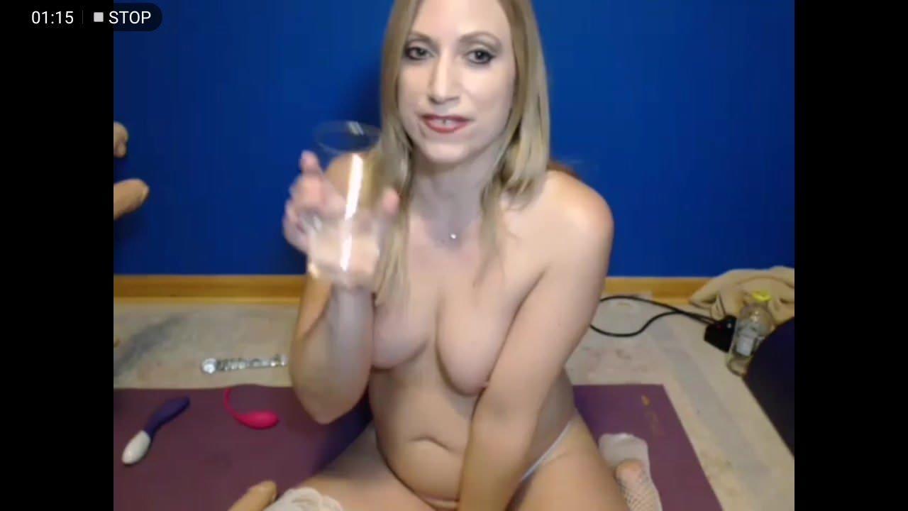 Girl Licks Her Own Pussy