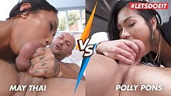 LETSDOEIT - Hot Asian Compilation - May Thai vs Polly Pons!