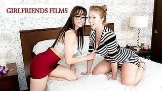GirlfriendsFilms - Lena Paul Scissor Fucked By Her Lawyer