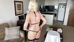 Sexy mature milf lingerie