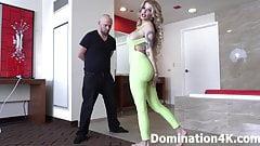 Domina Lola Fae gives you a foot smelling handjob