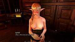 A house in the rift - Lustful blonde elf being mated