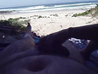 Pull off a bikini Wife pulling me off on the beach pt1
