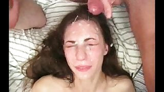 Cover me and my face in cum