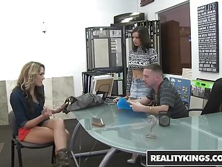 Milfs money talks Realitykings - money talks - brianna oshea shae summers tony