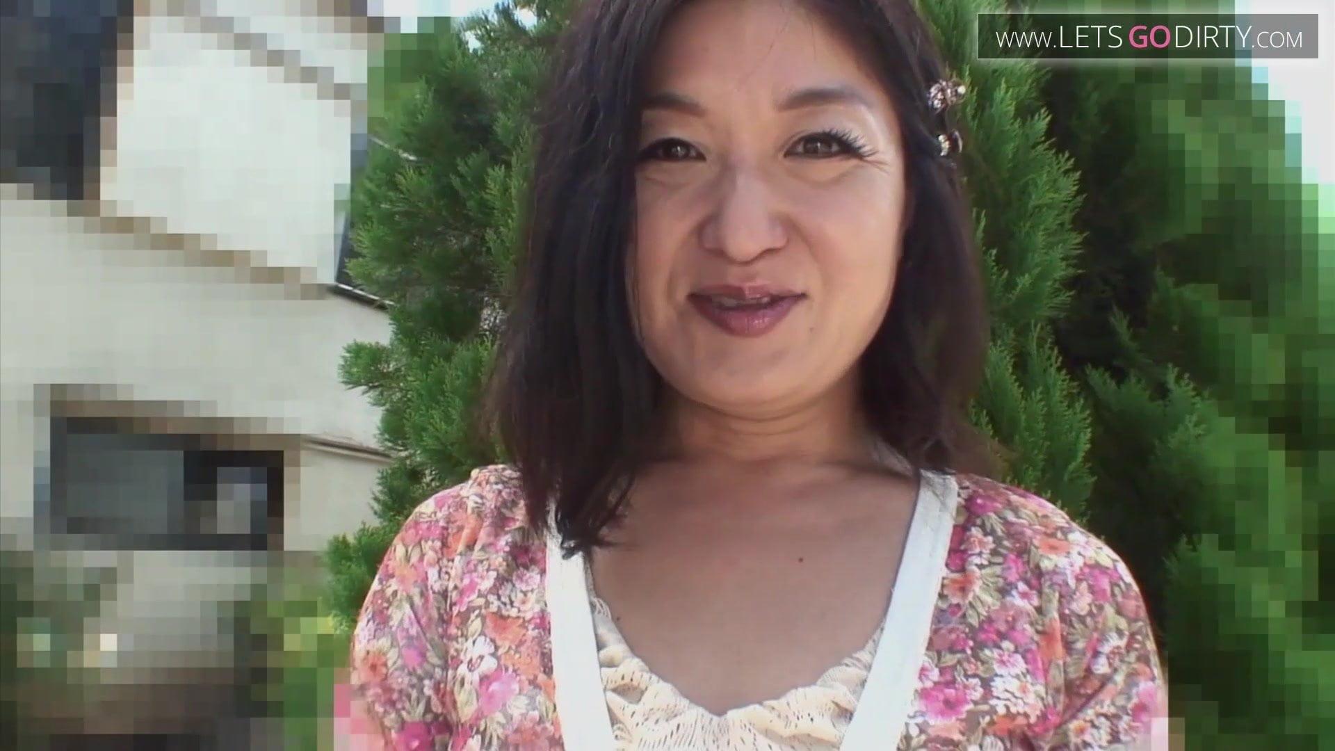 Asian creampie sex