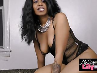 Xxx black celebrity porn Horny lily xxx porn sexy indian babe in black lingerie