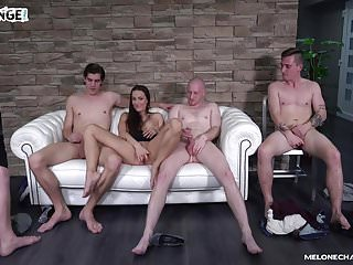 Mia moon fucked - Melonechallenge - big fuck orgy with mea melone wendy moon