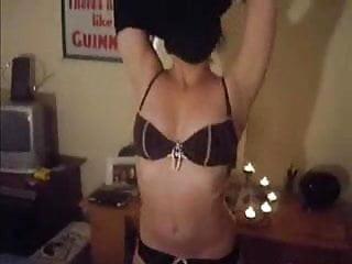 Blowjob skiny milf Skiny gf takes cum on her tits after blowjob