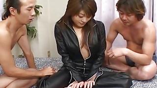 Juri Wakatsuki swallows after a serious - More at hotajp.com